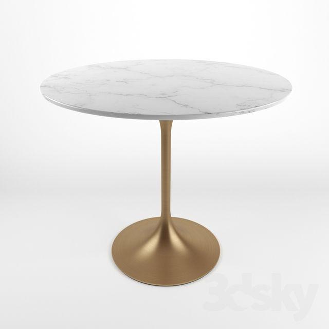 3d models: Table - Tulip table | 3d sky model list in 2019