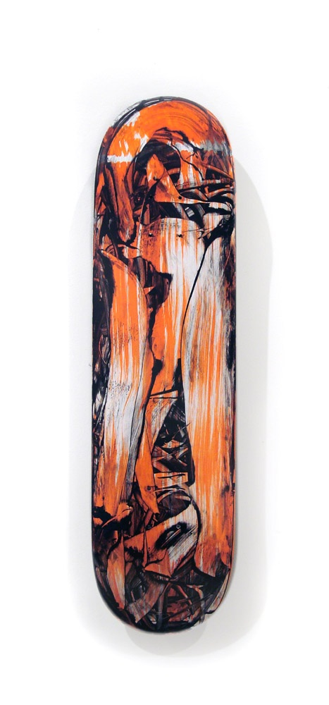 Judy Millar skateboard