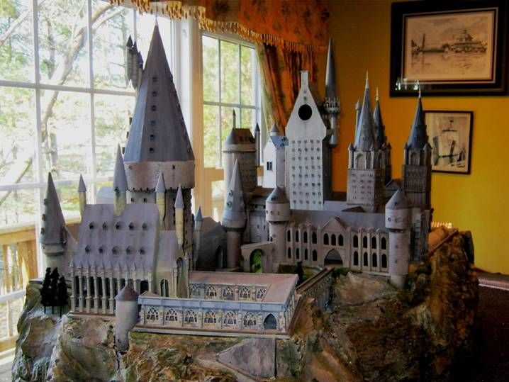 Hogwarts Castle Ho Scale Model Toys Model Castle