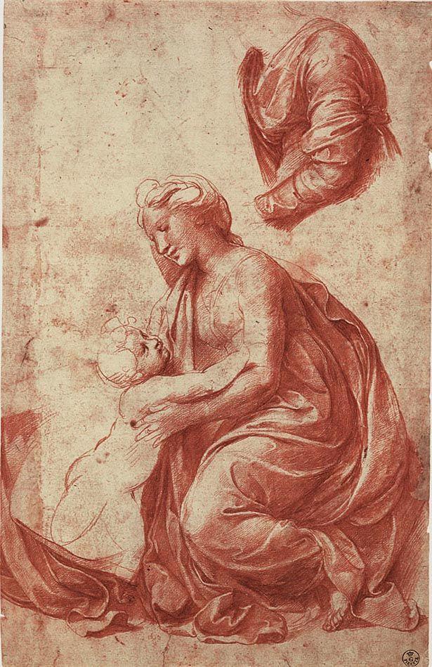 Raffaello Sanzio 1483-1520 | Renaissance Drawings | Tutt'Art@ | Pittura * Scultura * Poesia * Musica |