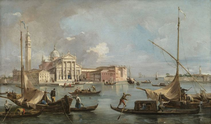View of San Giorgio Maggiore, 1760 - Francesco Guardi