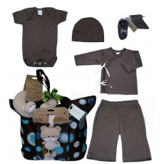 All Dressed Up in Brown from Baby Tote Naturals
