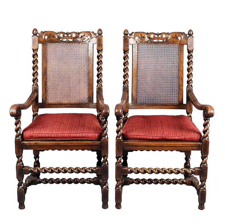 Antique Pair of King and Queen Carved Oak Dining Chairs : 50aa3774f674c73073eff2f70649da88 from pinterest.com size 736 x 733 jpeg 96kB