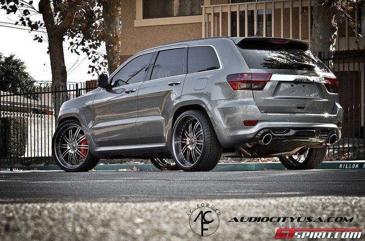 Jeep Grand Cherokee SRT 8 on AC Forged Wheels