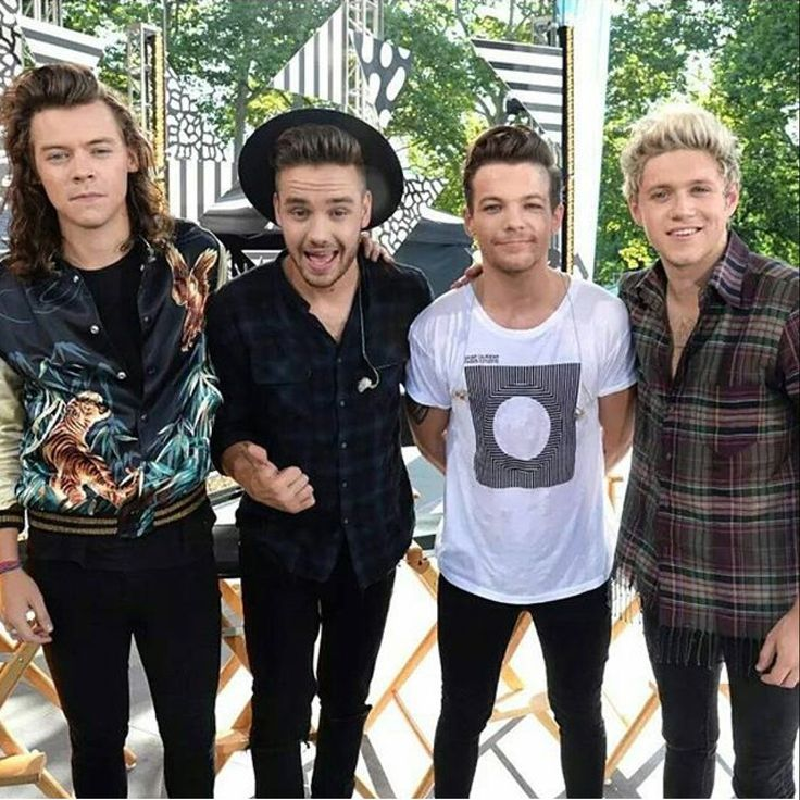 One Direction ~ Good Morning America aug 4. 2015  The very first time I saw them. My dearest friends and my inspiration. Love their music a lot!