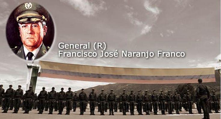 Hasta siempre General (r) Francisco José Naranjo Franco, forjador de Institución, Ejemplo, Honor, Familia. Padre de nuestro ex Director Oscar Adolfo Naranjo Trujillo. 1928-2015.