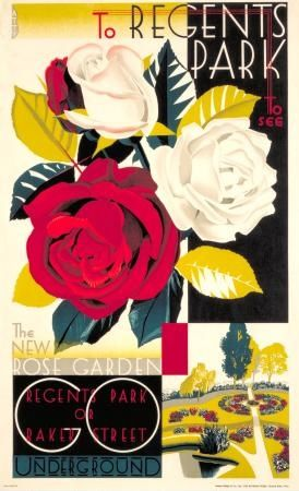 London Underground poster, 1921 http://www.historicalhoney.com/a-london-tour-in-tube-posters/
