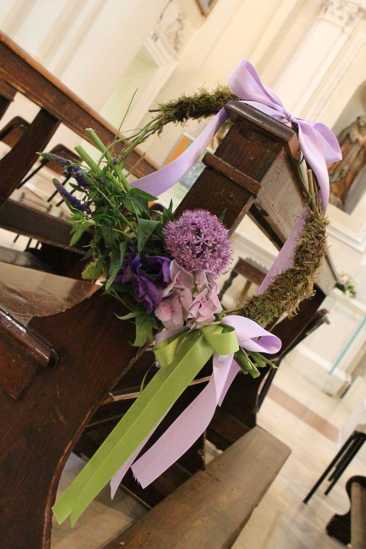 Matrimonio ghirlanda di fiori