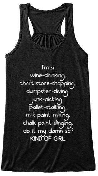Wine, chalk paint, and DIY! Ordering one now!