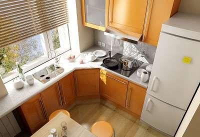 Дизайн маленькой кухни (фото)
