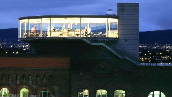 Top of the Guinness Factory: The Gravity Bar. (Accomplished June 2011)