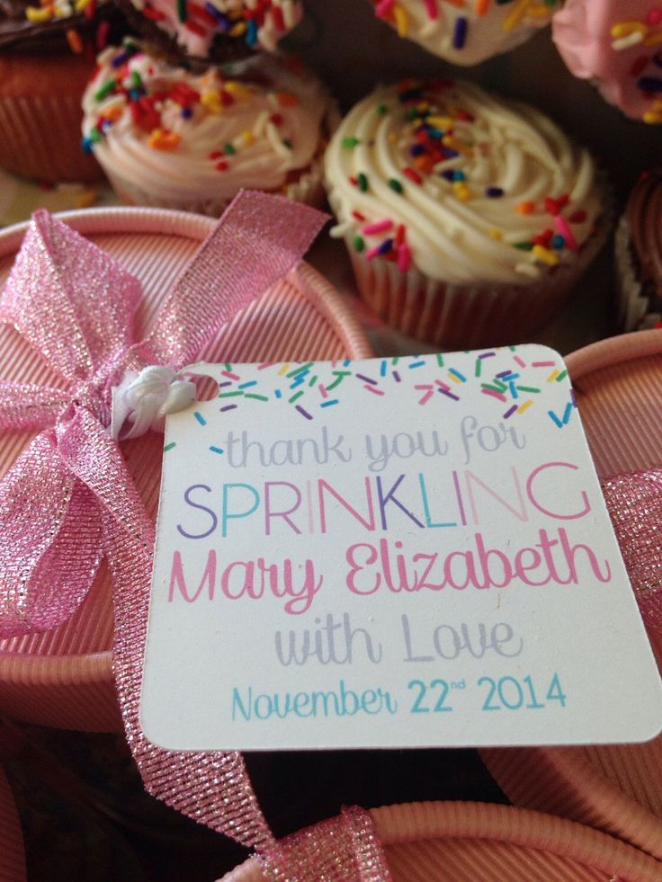 Baby Girl Sprinkle Favor Tags by PurpleSnowflakeXo on Etsy https://www.etsy.com/listing/213391330/baby-girl-sprinkle-favor-tags