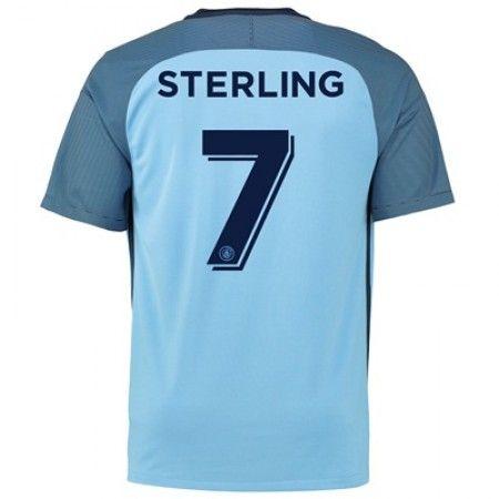 Manchester City 16-17 Raheem #Sterling 7 Hjemmebanesæt Kort ærmer,208,58KR,shirtshopservice@gmail.com