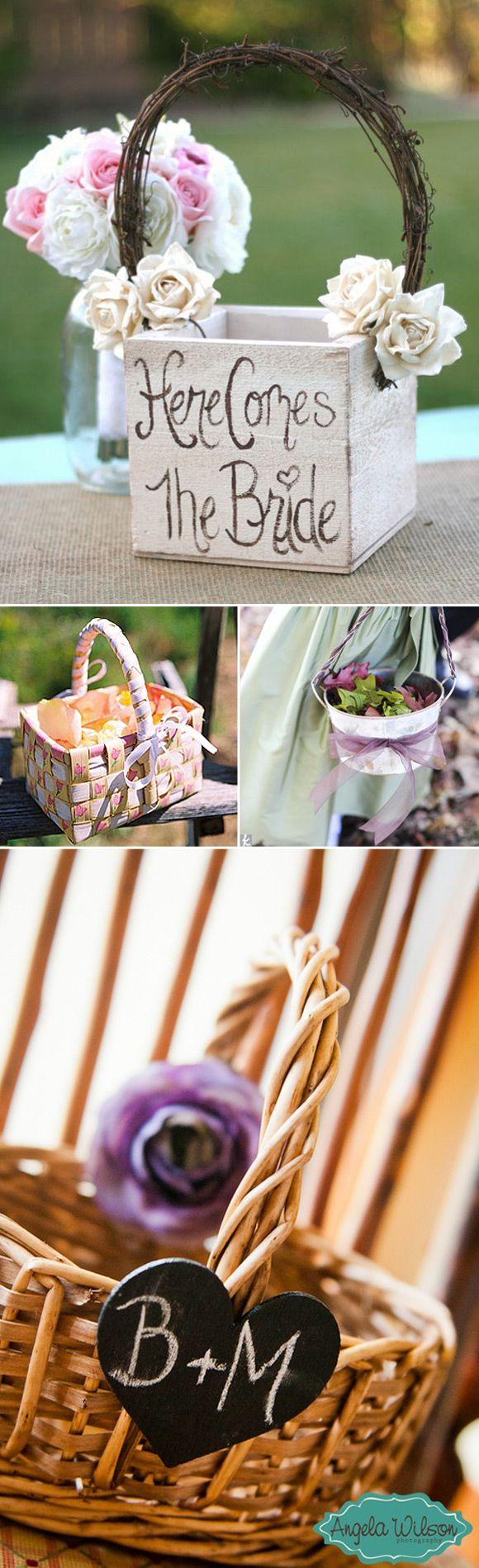Decoraci n de cestas para bodas ideas para decorar las for Decoracion de cestas