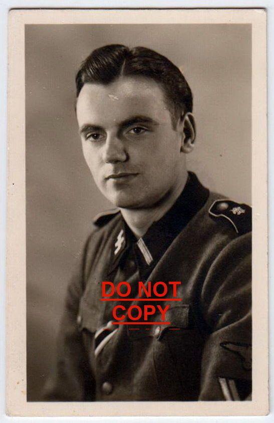 1944 ORIGINAL LAH ELITE PORTRAIT ID PHOTO