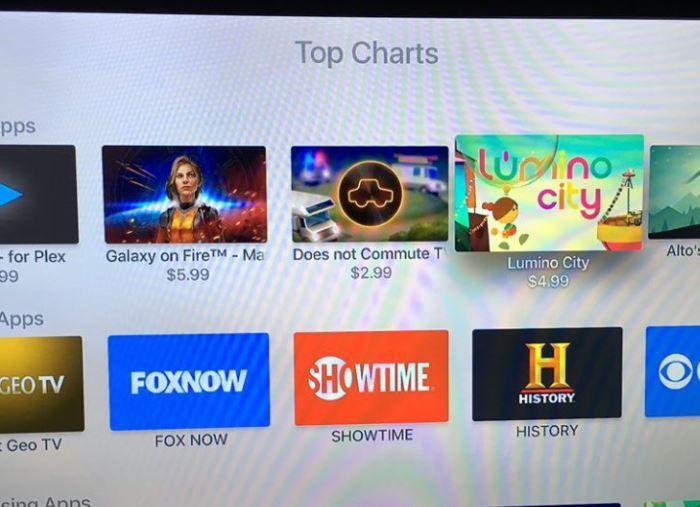 tvOS: App Top-Charts hinzugefügt - https://apfeleimer.de/2015/11/tvos-app-top-charts-hinzugefuegt - Besitzer eines neuen Apple TV dürfte es gestern bereits aufgefallen sein, allen anderen liefern wir die Info jetzt nach. Apple hat seinen tvOS App Store um die Sektion Top Charts erweitert. In dieser findet Ihr wie gewohnt entsprechende Kategorien der beliebtesten Apps für das t...