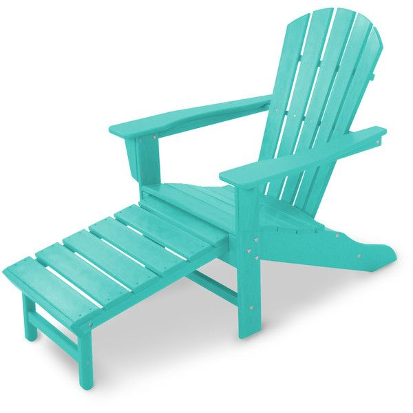 POLYWOOD® South Beach Ultimate Adirondack Chair found on Polyvore