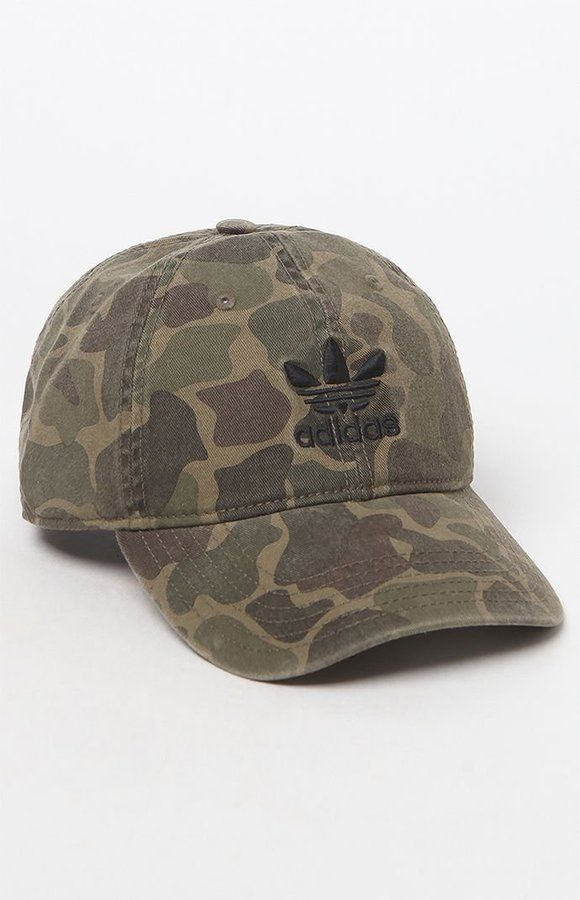 adidas Camouflage Strapback Dad Hat