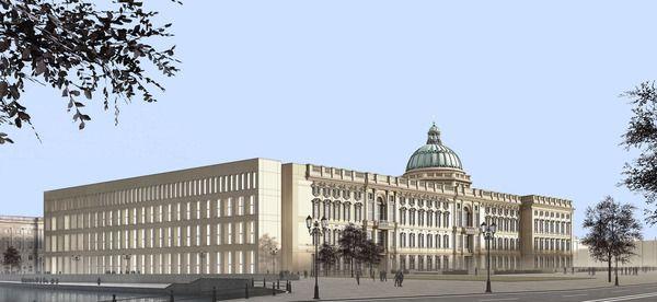 Vertretungsbüro der Bundesrepublik Deutschland Ramallah - Berliner Schloss – Humboldtforum: Das Projekt