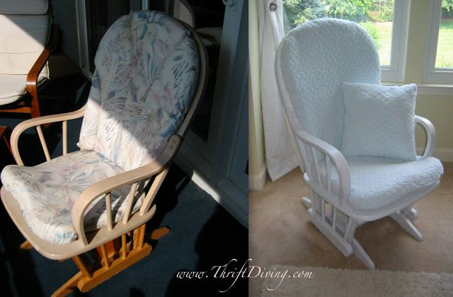 BEFORE & AFTER: Used Baby Furniture   Thrift Diving Blog