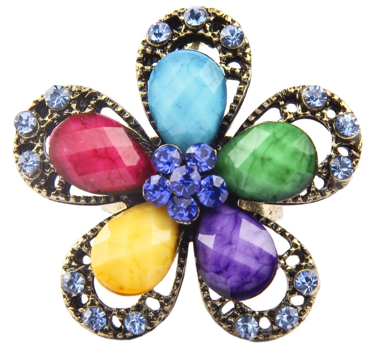 Bejewelled floral - Divalicious