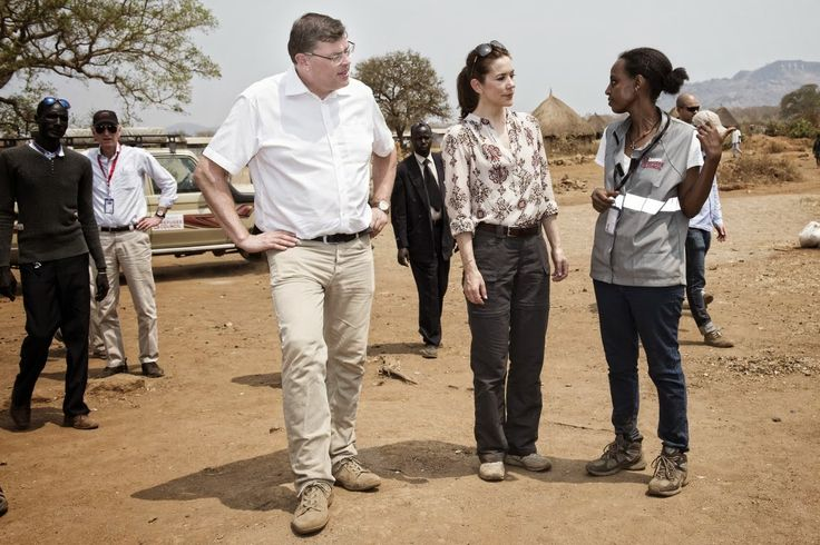 Crown Princess Mary visit Ethiopia(Day 1).16/02/2015