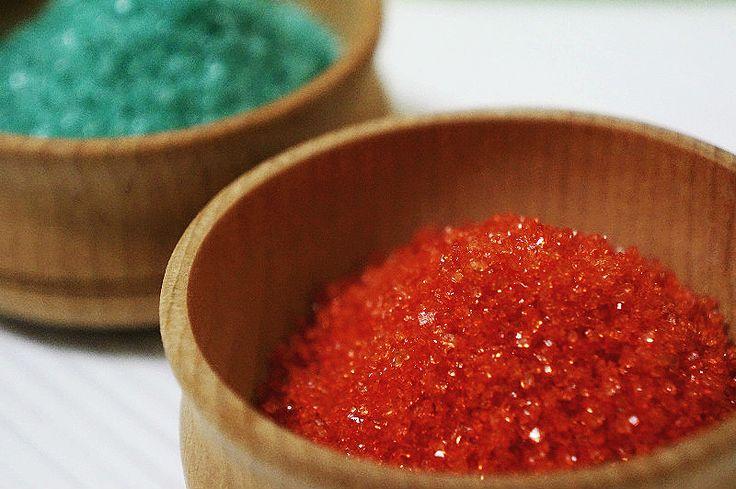 Как сделать разноцветный сахар?