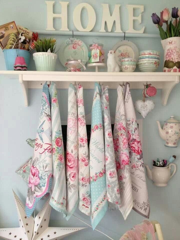 Estilo Shabby Chic Decoracion Interiores ~ Cucina, Shabby and Vintage style on Pinterest