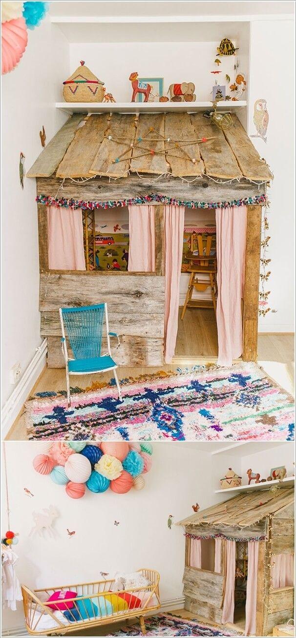 Best 25+ Kids indoor playhouse ideas on Pinterest   Playroom ideas ...