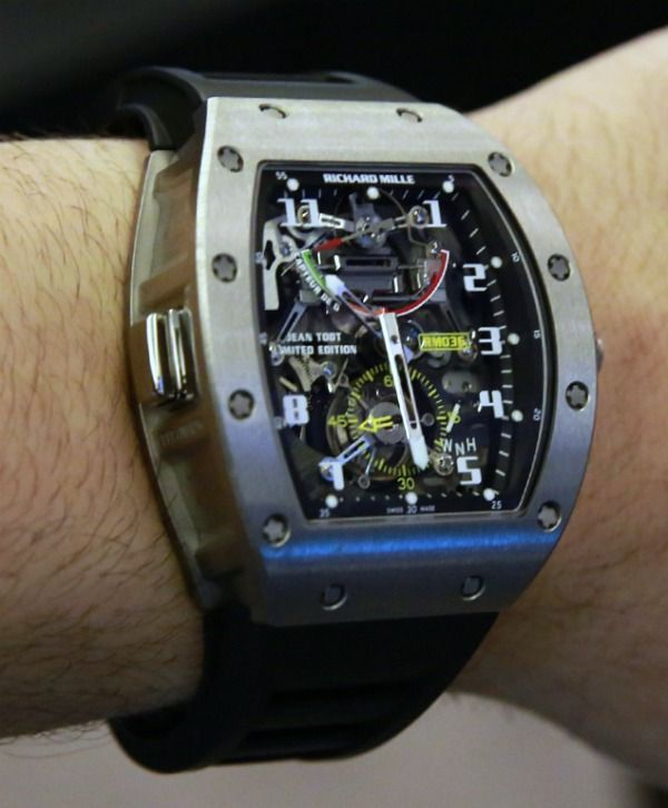 Richard Mille RM036 Watch With G-Force Meter Hands-On