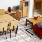 Open this site then scroll down for some great ideas for making things for doll houses.