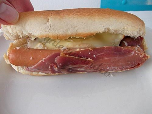 hot dogs à la savoyarde