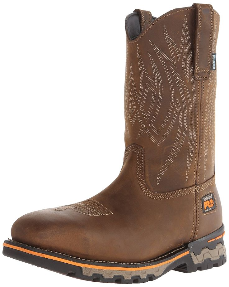 Timberland PRO Men's AG Boss Pull-On Alloy Square-Toe Work and Hunt Boot * To view further, visit now : Boots for men