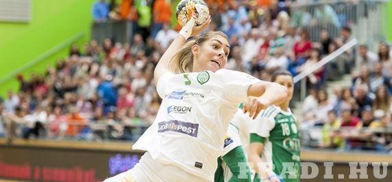 Kiélezett csata - Női kézilabda-csapatunk egyetlen góllal maradt alul a Magyar Kupa elődöntőjében a Győrrel szemben. #handball #kézilabda