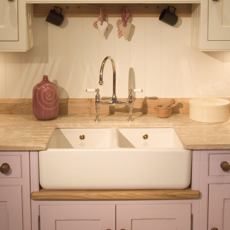 Kitchen, : Delightful Kitchen Decoration Using Cream Granite Kitchen Counter Tops Including Light Purple Kitchen Cabinet And White Ceramic Shaws Farm Kitchen Sinks