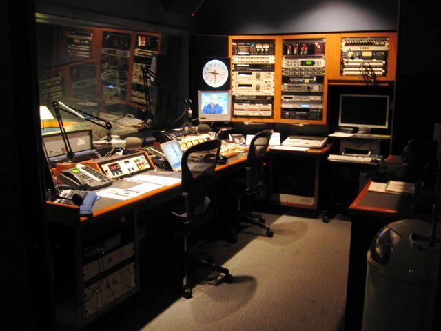 Former LA ABC affiliate radio station control room.