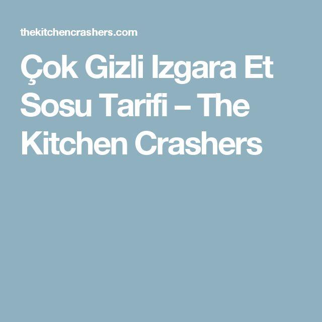 Çok Gizli Izgara Et Sosu Tarifi – The Kitchen Crashers