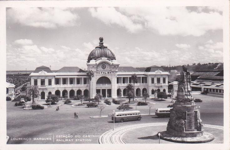 Moçambique - Lourenço Marques - Estação de Caminho de Ferro