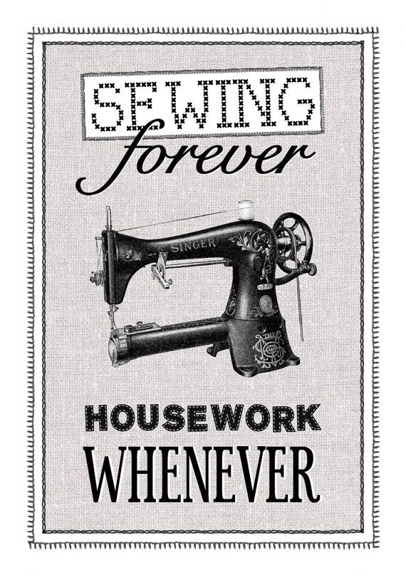 :)Sewing Room, Sewing Forever,  Dust Jackets, Crafts Room, Vintage Sewing Machine,  Dust Covers, Sewing Quotes, Book Jackets,  Dust Wrappers