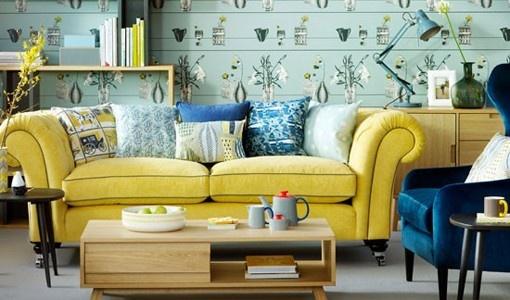 Iconic British living room