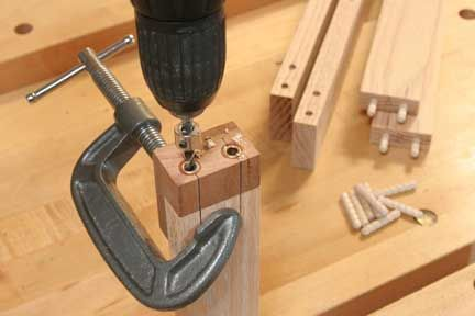 Shop-made Doweling Jig-great demo on how to build and use this version of the successful Rockler design