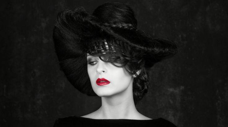 Black Widow   #AnaLulikova #Hairhat , braids and #Airbrushmakeup