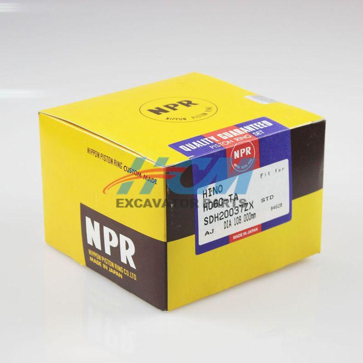 Engine: H06C-TA  Part Name: Piston Ring   Part No.: SDH20037ZX Size: DIA 108mm  STD