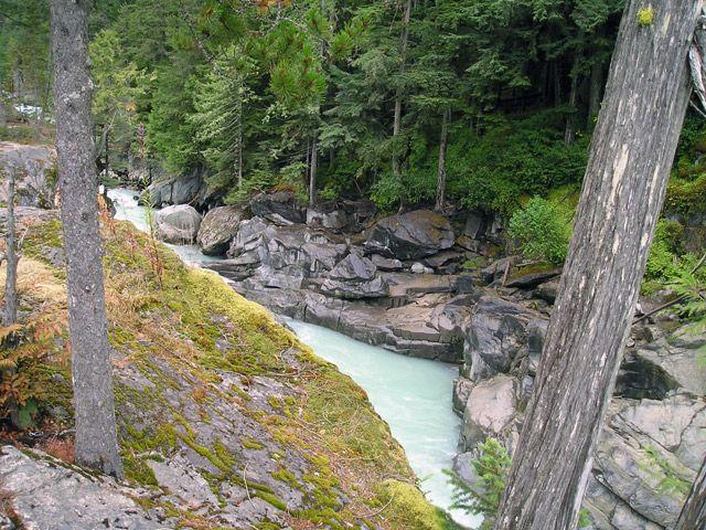 Nairn Falls, Pemberton   Vancouver Trails