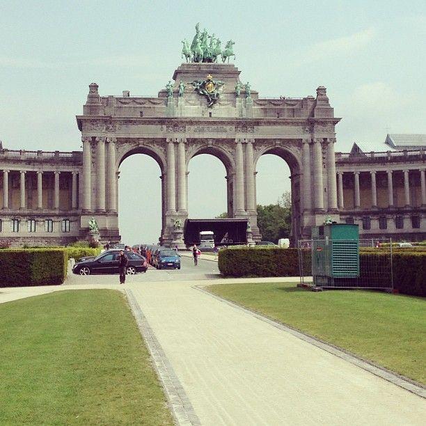 Jubelpark / Parc du Cinquantenaire in Brussel, Bruxelles-Capitale