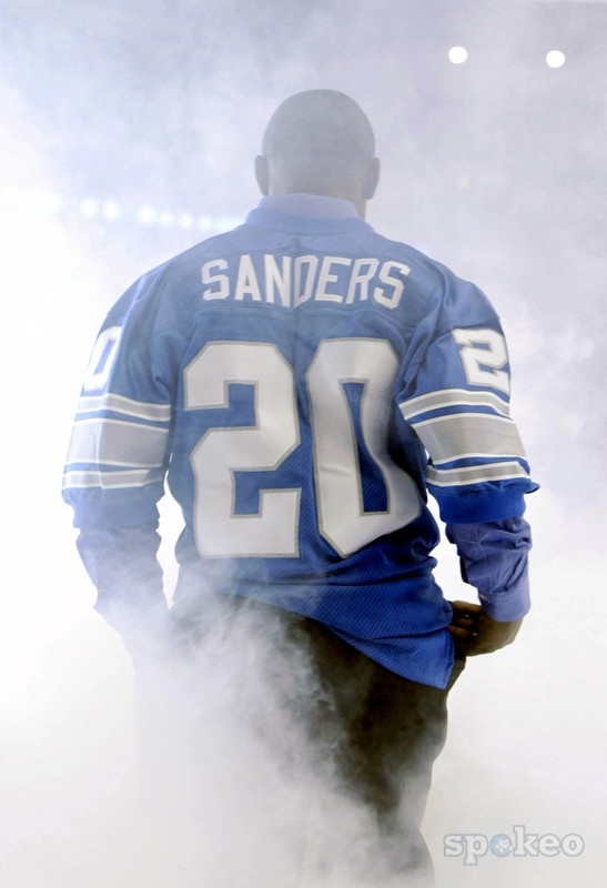 Barry Sanders is the greatest RB ever(my opinion).
