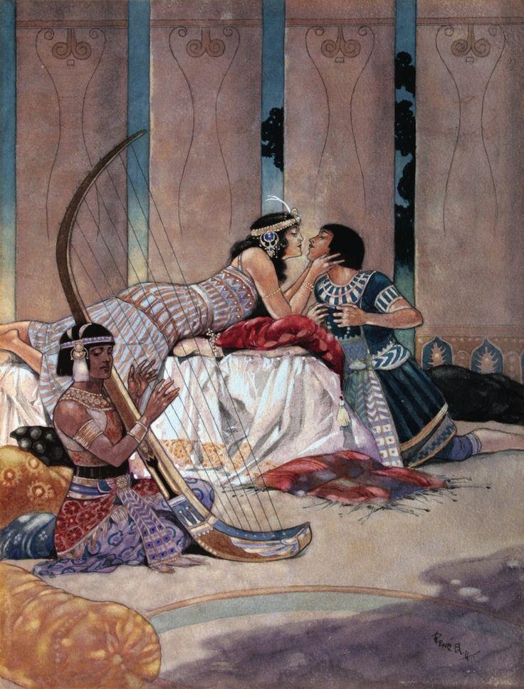 Интимные подробности из жизни клеопатры — pic 1
