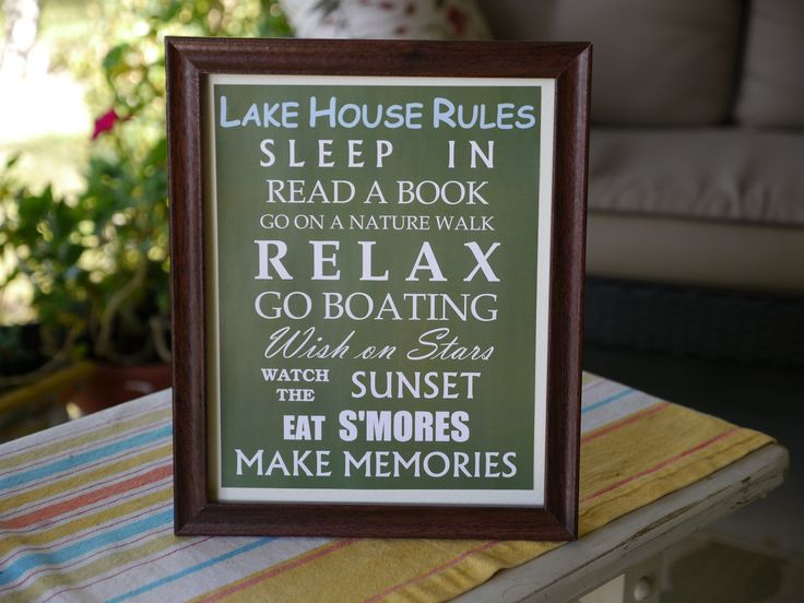 lake house fun ideas - house and home design