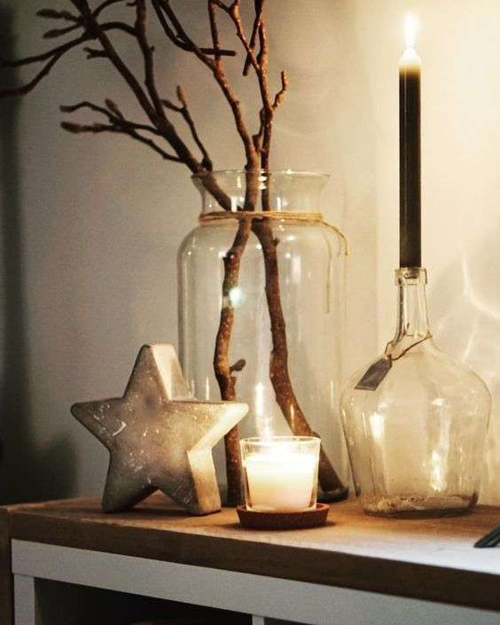 Decorate with Christmas lights