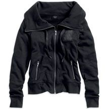 Women's Activewear Jacket with Unique Back Graphic | MotorClothes® Merchandise | Harley-Davidson USA